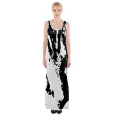 Lion  Maxi Thigh Split Dress