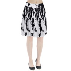 Lion  Pleated Skirt