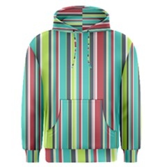Colorful Striped Background. Men s Pullover Hoodie