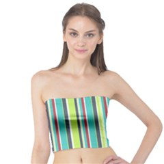 Colorful Striped Background. Tube Top