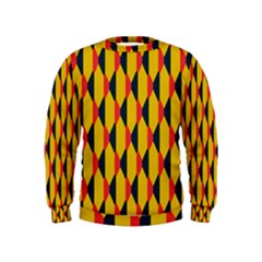 Triangles pattern        Kid s Sweatshirt