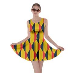Triangles pattern       Skater Dress