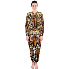 Lady Panda Goes Into The Starry Gothic Night OnePiece Jumpsuit (Ladies)