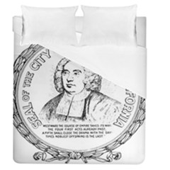 Seal of Berkeley, California Duvet Cover (Queen Size)