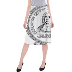 Seal of Berkeley, California Midi Beach Skirt