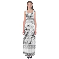 Seal of Berkeley, California Empire Waist Maxi Dress