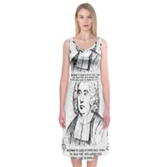 Seal of Berkeley, California Midi Sleeveless Dress