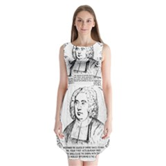 Seal of Berkeley, California Sleeveless Chiffon Dress