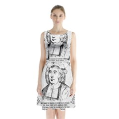Seal of Berkeley, California Sleeveless Chiffon Waist Tie Dress