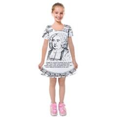 Seal of Berkeley, California Kids  Short Sleeve Velvet Dress