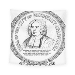 Seal of Berkeley, California Square Tapestry (Small)
