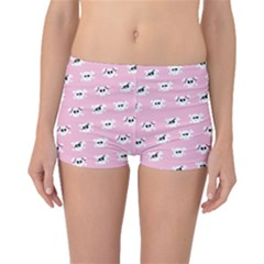 Girly Girlie Punk Skull Boyleg Bikini Bottoms