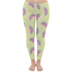 Watermelon Wallpapers  Creative Illustration And Patterns Classic Winter Leggings