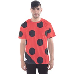 Abstract Bug Cubism Flat Insect Men s Sport Mesh Tee