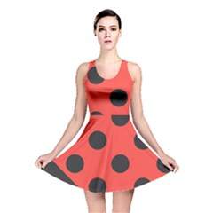 Abstract Bug Cubism Flat Insect Reversible Skater Dress
