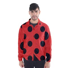 Abstract Bug Cubism Flat Insect Wind Breaker (Men)