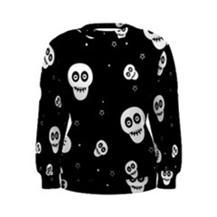 Skull Pattern Women s Sweatshirt