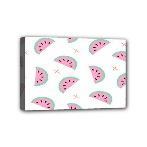 Watermelon Wallpapers  Creative Illustration And Patterns Mini Canvas 6  x 4