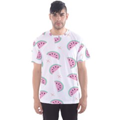 Watermelon Wallpapers  Creative Illustration And Patterns Men s Sport Mesh Tee
