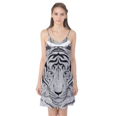 Tiger Head Camis Nightgown