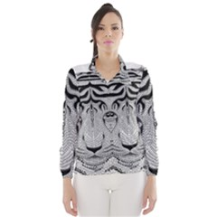 Tiger Head Wind Breaker (Women)