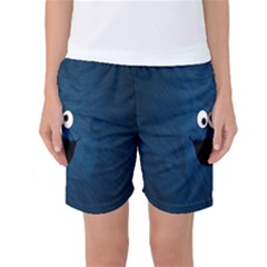 Funny Face Women s Basketball Shorts