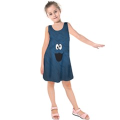Funny Face Kids  Sleeveless Dress
