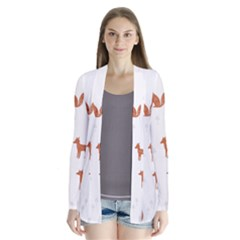 Fox Animal Wild Pattern Cardigans