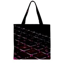 Computer Keyboard Zipper Grocery Tote Bag
