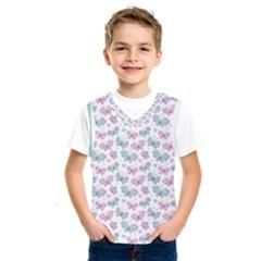 Cute Pastel Butterflies Kids  Sportswear