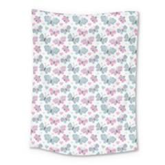 Cute Pastel Butterflies Medium Tapestry