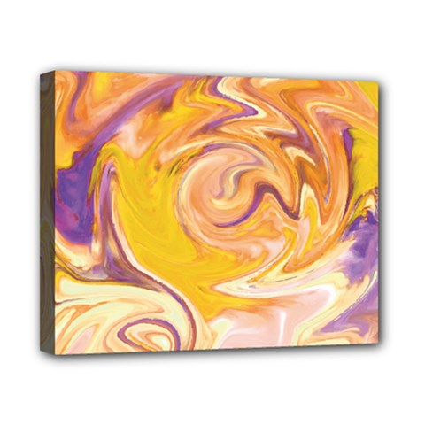 Yellow Marble Canvas 10  X 8