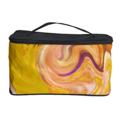 Yellow Marble Cosmetic Storage Case