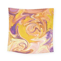 Yellow Marble Square Tapestry (small)
