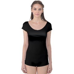 Black Boyleg Leotard