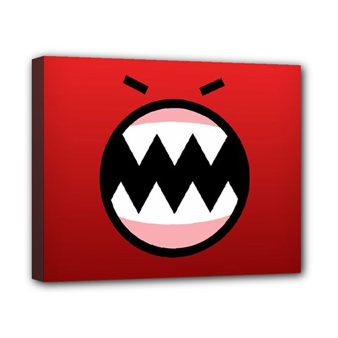 Funny Angry Canvas 10  x 8