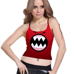 Funny Angry Spaghetti Strap Bra Top