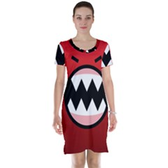 Funny Angry Short Sleeve Nightdress
