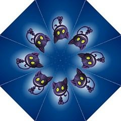 Cats Funny Hook Handle Umbrellas (Medium)