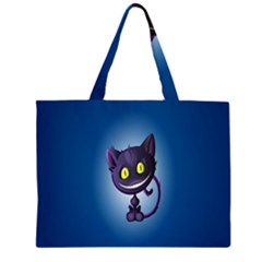 Cats Funny Large Tote Bag