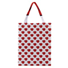 Emoji Heart Character Drawing  Classic Tote Bag