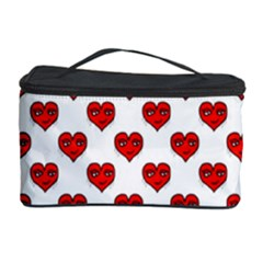 Emoji Heart Character Drawing  Cosmetic Storage Case