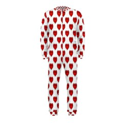 Emoji Heart Shape Drawing Pattern OnePiece Jumpsuit (Kids)