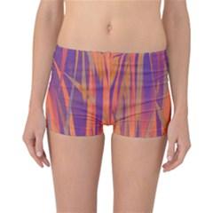Pattern Reversible Bikini Bottoms