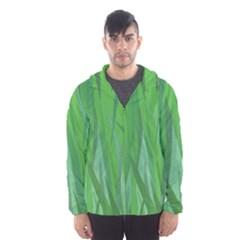 Pattern Hooded Wind Breaker (Men)