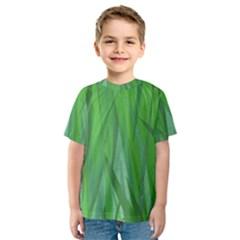 Pattern Kids  Sport Mesh Tee