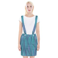 Pattern Suspender Skirt