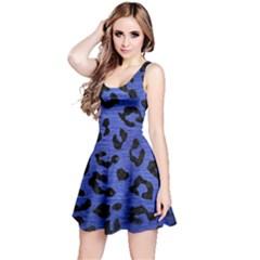 SKN5 BK-MRBL BL-BRSH Reversible Sleeveless Dress