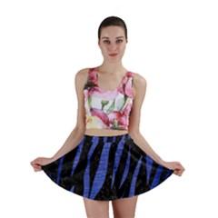 SKN3 BK-MRBL BL-BRSH Mini Skirt