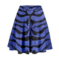 SKN2 BK-MRBL BL-BRSH (R) High Waist Skirt